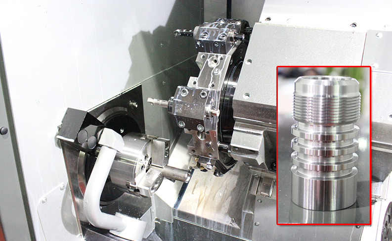 HAAS CNC Lathe Test Cut